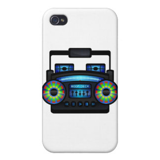 Boombox iPhone 4/4S Cover