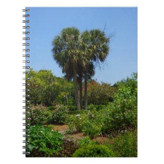 Booneホールの庭 ノートブック