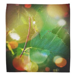 Boothbayメインのバンダナの神秘的な葉 バンダナ