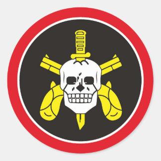 BOPE Tropa De Elite Brazilianの特別な警察 ラウンドシール