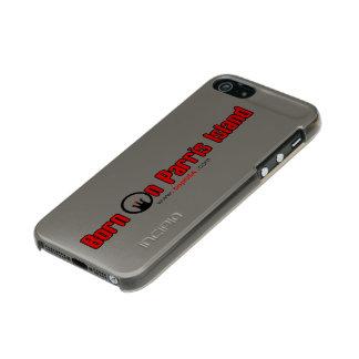 "BOPIの""銀製の狙撃兵""のiPhone 5/5s -砲金の終わり メタリックiPhone SE/5/5sケース"