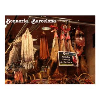 Boqueria肉屋 ポストカード