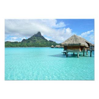 Bora Boraの写真のプリントのOverwaterリゾート フォトプリント