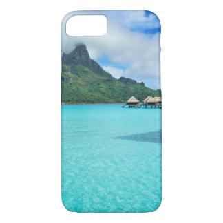 Bora Boraの礁湖のiphone 7のOverwaterのバンガロー iPhone 8/7ケース