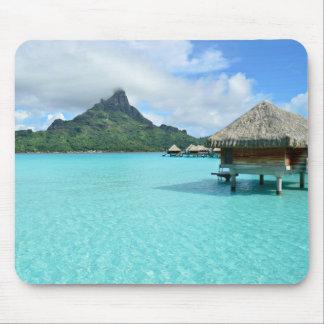 Bora BoraのmousepadのOverwaterリゾート マウスパッド