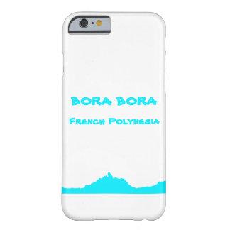 Bora Boraフランス領ポリネシアカバーiPhoneかSamsung Barely There iPhone 6 ケース