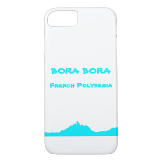 Bora Boraフランス領ポリネシアカバーiPhoneかSamsung iPhone 8/7ケース