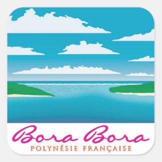 Bora Bora礁 スクエアシール