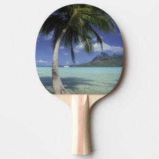 Bora Bora、見られるフランス領ポリネシアMt. Otemanu 卓球ラケット