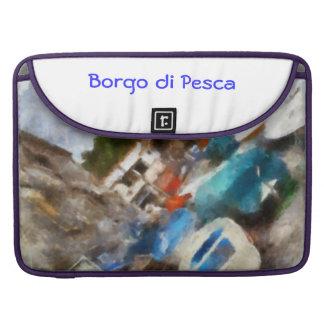 """Borgo di Pesca "" MacBook Proスリーブ"