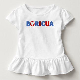 Boricuaのプエルトリコのプライド トドラーTシャツ
