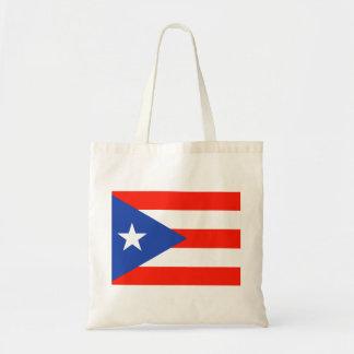 Boricuaのプエルトリコの旗Amor 4Hector トートバッグ