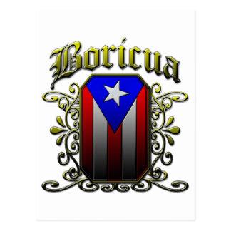 Boricua ポストカード