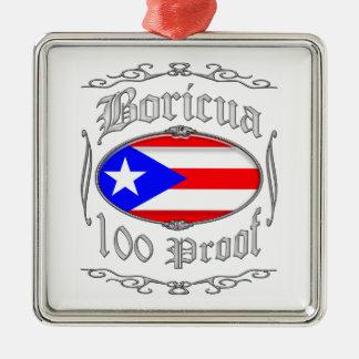Boricua 100 Proof2 メタルオーナメント