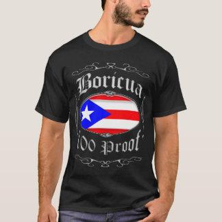 Boricua 100 Proof2 Tシャツ