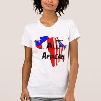 Boricua、Morena、すべてのアフリカ人- Tシャツ