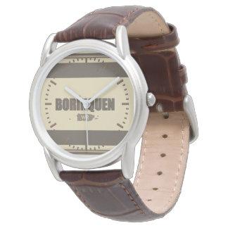 Borinquen: プエルトリコの地図 腕時計