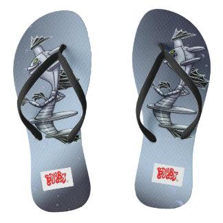 BORO SURFY外国モンスターのビーチサンダルは革紐を細くします ビーチサンダル