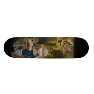 Boschの景色の不思議の国のスケートボードのアリス オリジナルスケートボード
