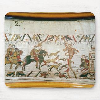 Boshamへの彼の騎士との伯爵のハロルドの乗馬 マウスパッド