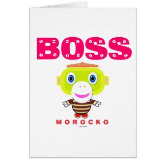 Boss-Cute Monkey-Morocko カード