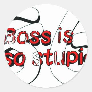 Boss is so stupid 86 ラウンドシール