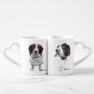 Bossdog Sutter: 雑種犬のマグ ペアカップ
