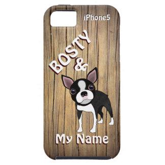 Bostie及び私iPhone5カバー iPhone SE/5/5s ケース