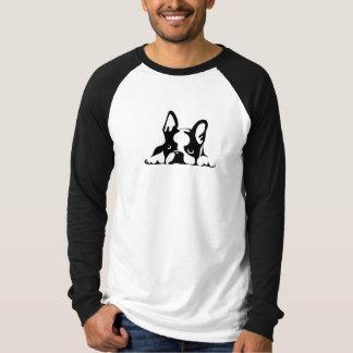 BOSTON TERRIER KOTARO & TEN TEN Tシャツ