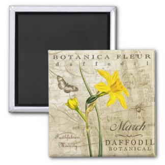Botanica 3月の磁石 マグネット