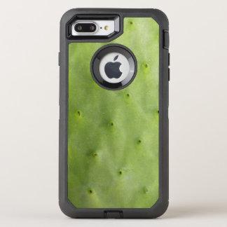Botanical Tropical Green Cactus Photo オッターボックスディフェンダーiPhone 8 Plus/7 Plusケース