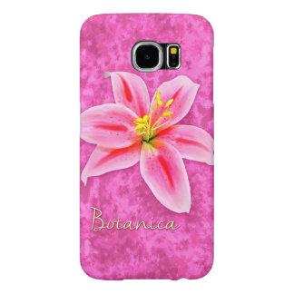Botanicanユリ Samsung Galaxy S6 ケース