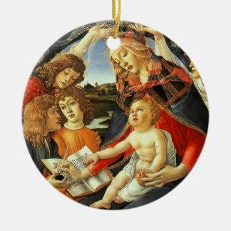 Botticelli著マドンナ。 クリスマスのギフトのオーナメント セラミックオーナメント
