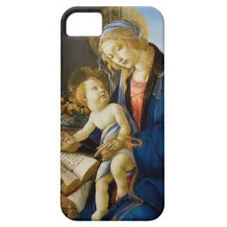 Botticelli著作の本のマドンナ iPhone SE/5/5s ケース