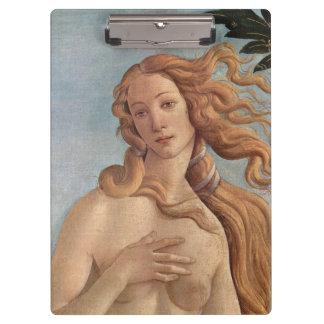Botticelli著金星の誕生、ルネサンス芸術 クリップボード