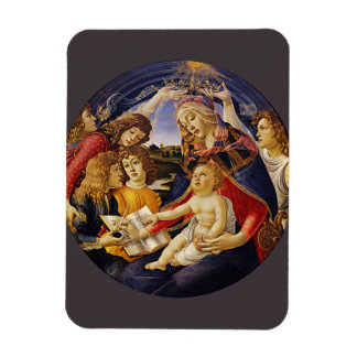 Botticelli著Magnificatのマドンナ マグネット