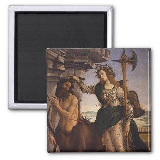 Botticelli著Pallasそしてケンタウルス マグネット