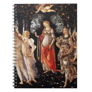 Botticelli Primaveraのノート ノートブック
