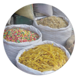 Boudhanathのプレートの販売のための食糧 プレート