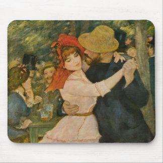 Bougival (1883年)のピエール=オーギュスト・ルノワールのダンス マウスパッド