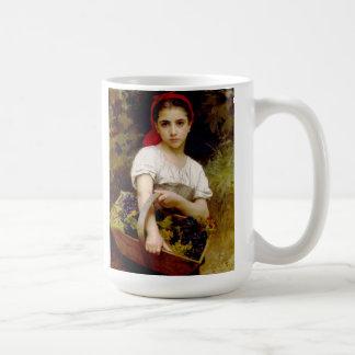 Bouguereauの収穫機 コーヒーマグカップ