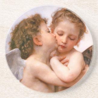Bouguereauの天使のファインアート コースター