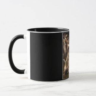 Bouguereauの天使の環境のキューピッド マグカップ