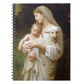 Bouguereauの潔白のノート ノートブック