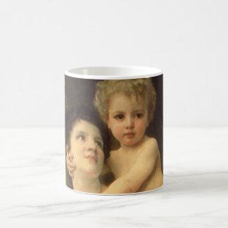 Bouguereau著ビクトリアンな芸術、兄弟および姉妹 コーヒーマグカップ