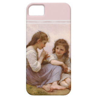 Bouguereau著姉妹そしてフルート音楽 iPhone SE/5/5s ケース