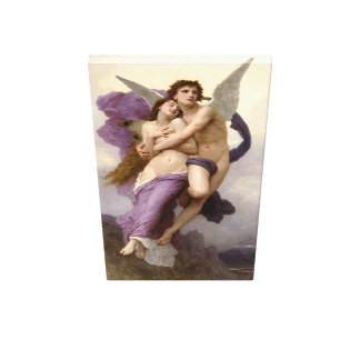 ` Bouguereau著精神の外転」 キャンバスプリント