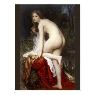 Bouguereau著(Baigneuse)浸っている女性 ポストカード