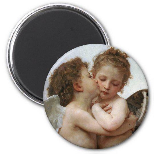 "Bouguereau , "" First kiss "" マグネット"