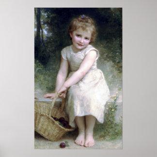 Bouguereau - Lesのプルーン ポスター